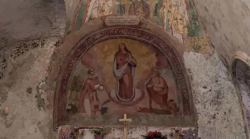 Chiesa Rupestre di Santa Maria in grotta – Rongolise (CE)